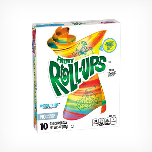 Fruit Roll-Ups Tropical - 10 rolls
