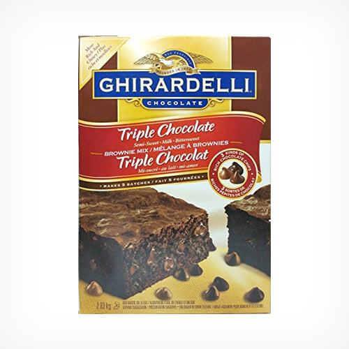 Ghirardelli Triple Chocolate Brownie Mix 2.83kg