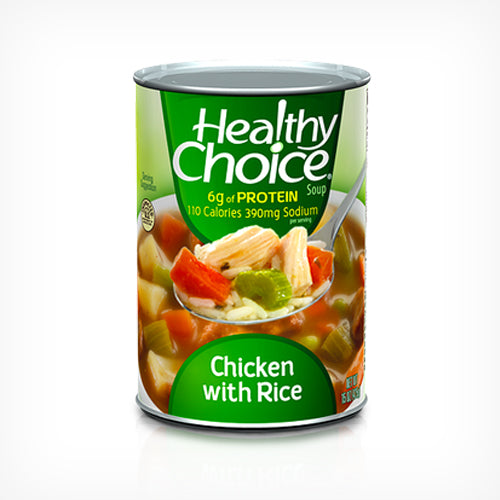 Healthy Choice - Chicken with Rice Soup  398ml