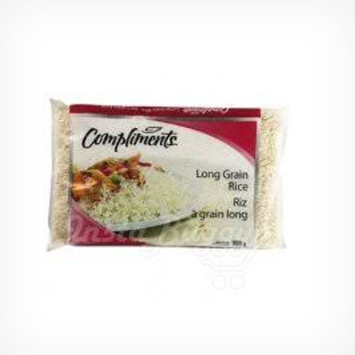 Long Grain Rice, White,Compliments 900g