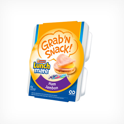 Lunchmate Grab 'N Snack, Ham, 62g