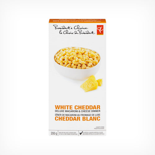 Macaroni & Cheese Dinner, White Cheddar 200g