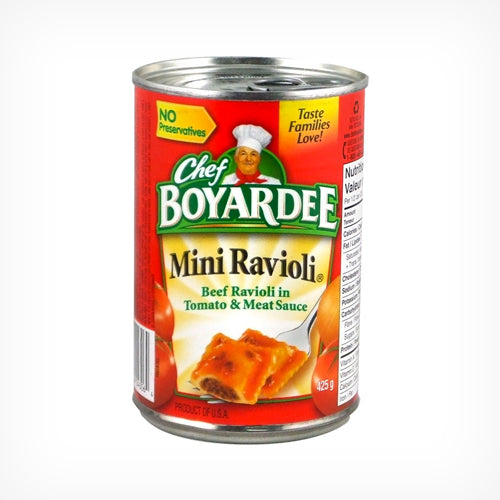 Mini Ravioli , Chef Boyardee  425 g