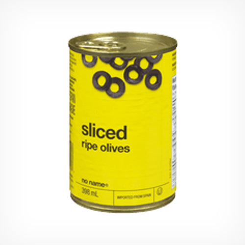 Olives, Black, Sliced 398 ml