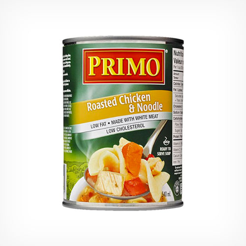 Primo Roast Chicken Noodle Soup, 540ml