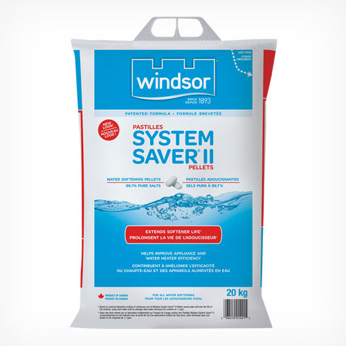 Windsor Water Softening Pellets - 10 Bags (20 kg each)