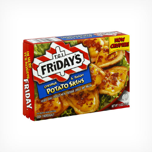 T.G.I. Friday's Potato Skins Cheddar &  Bacon Loaded, 992g