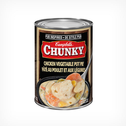Campbell's Chunky Chicken Vegetable Pot Pie 540ml