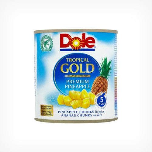 Dole Tropical Gold Pineapple Chunks 540ml