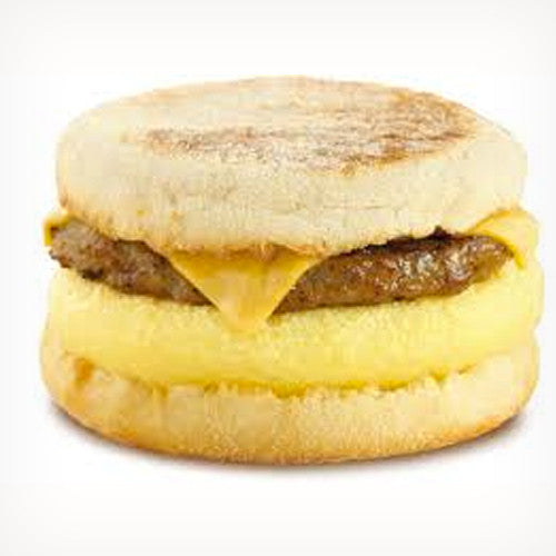 Egg, Sausage & Cheese Sandwich