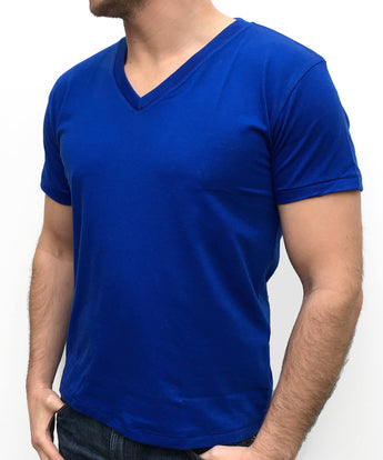 Soft-Stretch Classic Fit V-Neck