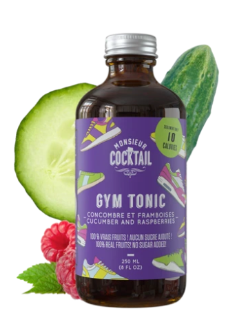 SIROP GYM TONIC - MONSIEUR COCKTAIL