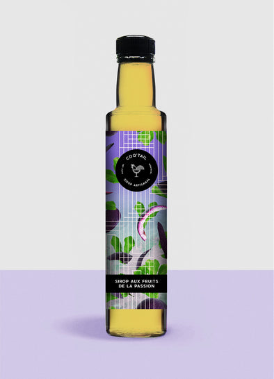 Coq'Tail Sirop Artisanal - Fruits de la Passion