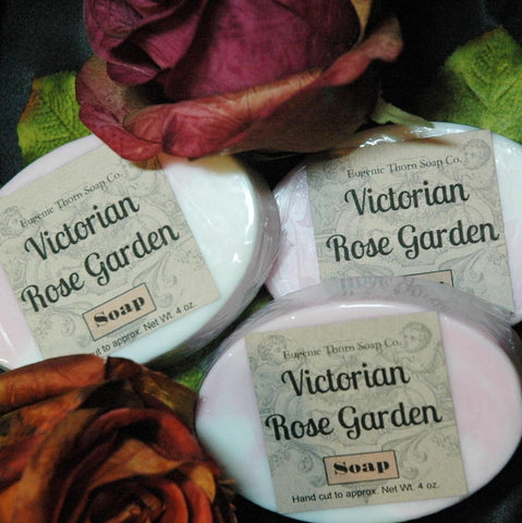 Victorian Rose Soap-subtle scent