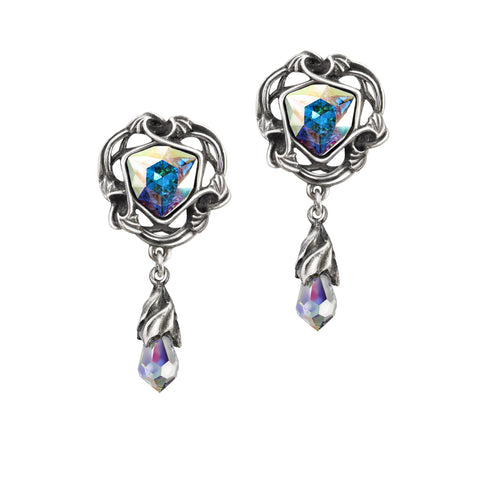 E350-Empyrian Eye;Tears From Heaven Earrings