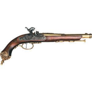 FD-1013L -1825 Italian Percussion Flintlock - Brass