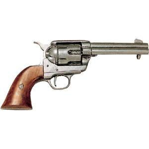 FD-1186G - 1886 Colt 45 Army Revolver - Pewter