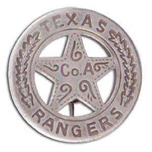 OH-3011 - Texas Ranger Badge B