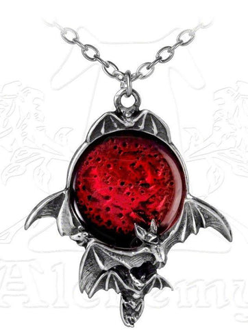 P447- Blood Moon Pendant