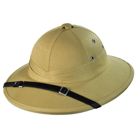 Pith helmet for steampunk cosplay