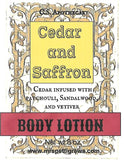 CSA-202L-Cedar and Saffron Aloe Body Lotion
