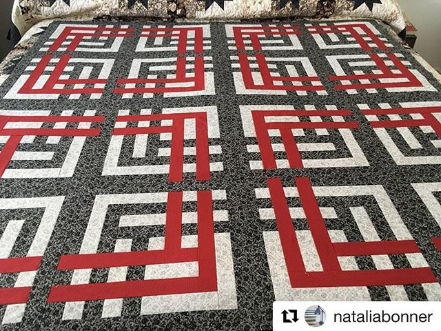 #Repost @nataliabonner (@get_repost) ・・・ Lisa finished piecing her A