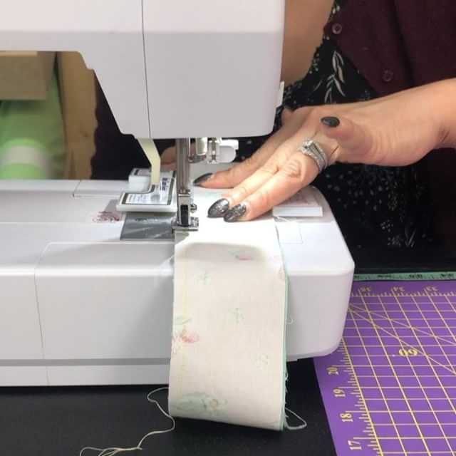 Did you catch Bradie's strip sewing technique? It is SO FAST. More importantly, it is effortlessly accurate. She detailed this on the Stash Busters Series LIVE on Facebook. You can watch the replay anytime on Facebook or YouTube. Or tune in live M