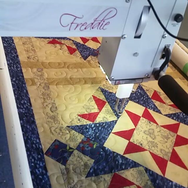 "Freddie sewing pattern ""Chicago"" on QUILT"