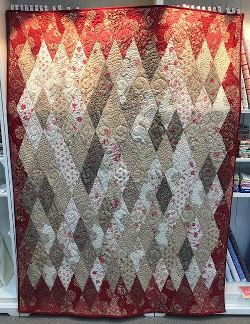 Bradie's French General Diamonds Quilt