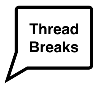 Why does my thread keep breaking?