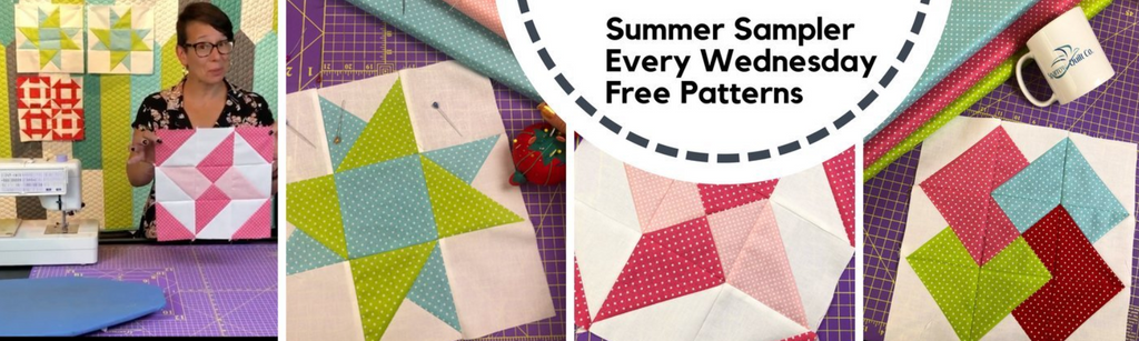 Summer Sampler Quilt-Along