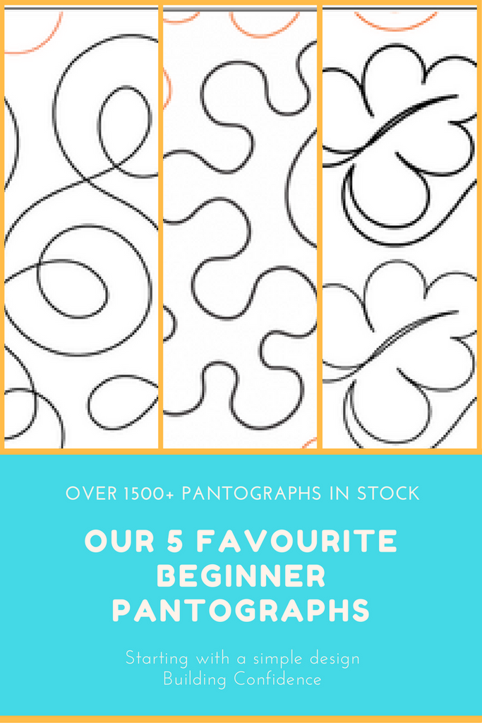 image regarding Free Printable Pantograph Quilting Patterns identify Our 5 Beloved Pantographs for Starter Longarm Quilters