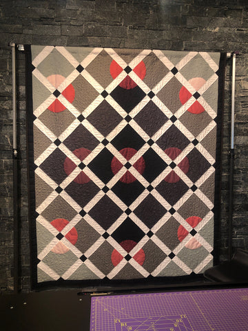 be bold circle piecing quilt pattern