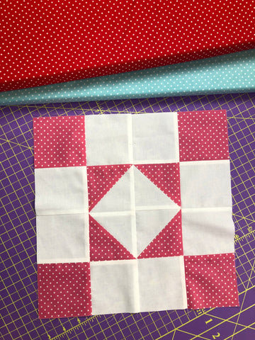 square in a square free block pattern