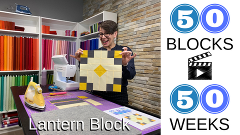 block 16 of 50 50 blocks in 50 weeks