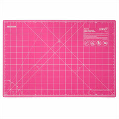 "OLFA - 12"" x 18"" Double Sided Rotary Mat - Pink"