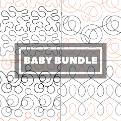 Tear Away Designs Starter Bundle (Four Baby Size Quilts)