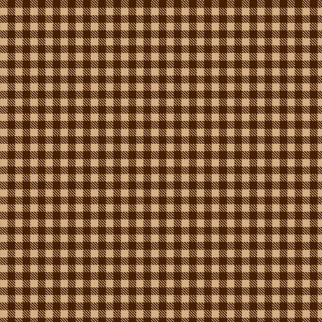 MOOSE TRAIL LODGE PLAID - BROWN