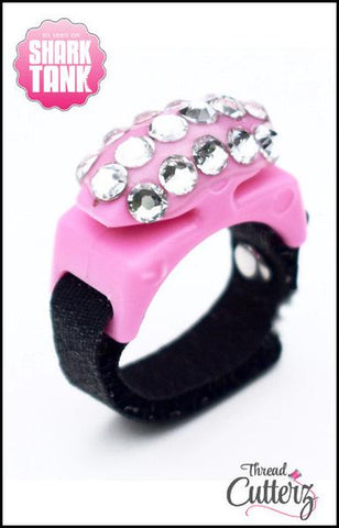 Bedazzled Thread Cutterz Ring