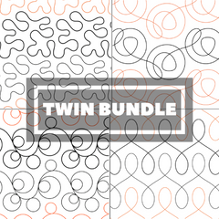 Tear Away Designs Starter Bundle (Four Twin Size Quilts)