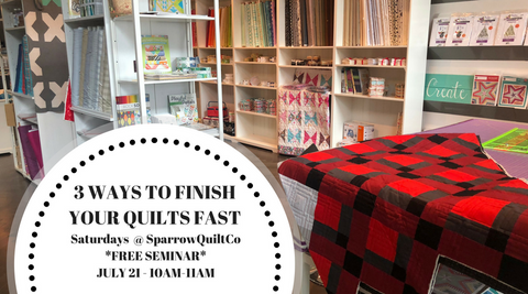 Saturday's At Sparrow Quilt Co!