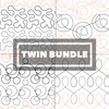 Image of Tear Away Designs Starter Bundle (Four Twin Size Quilts)