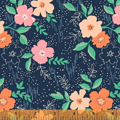 Sweet Floral - by Another Point of View - Sweet Floral Navy