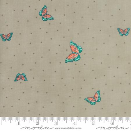 Woodland Secrets Flax - Flutter Light Green - Moda