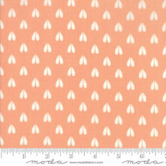Woodland Secrets Peach Blossom - Doe a Deer Peach - Moda