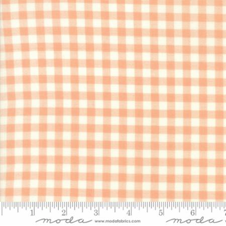 Woodland Secrets Peach Blossom - Plaid Peach - Moda