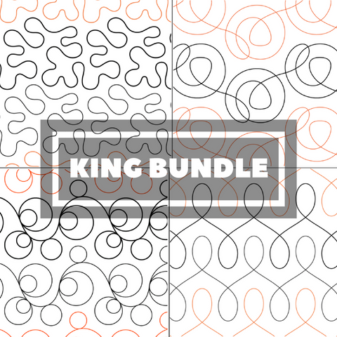 Tear Away Designs Starter Bundle (Four King Size Quilts)