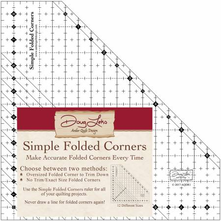 Simple Folded Corners Ruler by Doug Leko