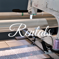 2hr Edmonton Longarm Rental - Sparrow Quilt Co.
