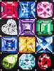 Image of Full Set of 12 Birthstone Blocks